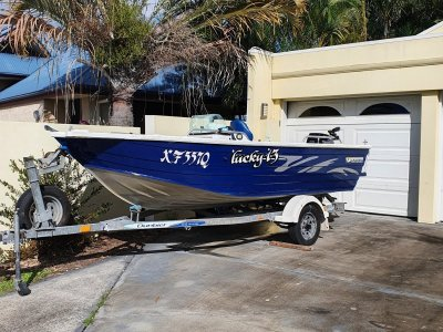 Horizon Aluminium Boats 440 Stalker