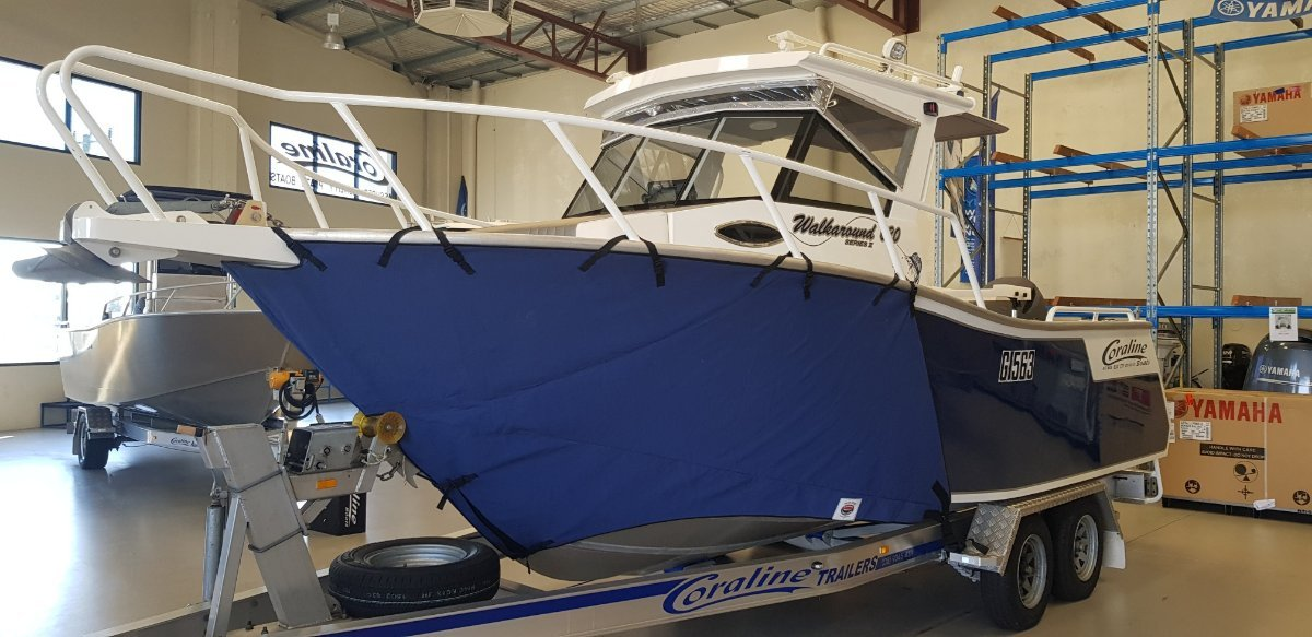 Coraline 620 Walkaround Centre Cabin Plate Alloy Self Draining Deck