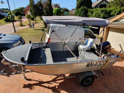 20hp Tinney fishing boat