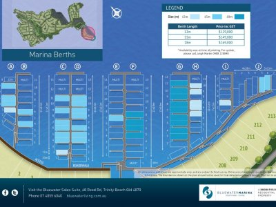 Bluewater Marina - Trinity Park - Cairns - 18m x 6m - Pen G2