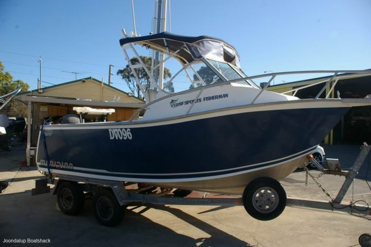 Chivers Sports Fisherman 550 runabout 2007
