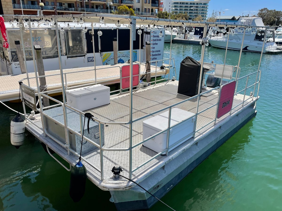 Custom Pontoon 6m Party Barge - OFFERS-