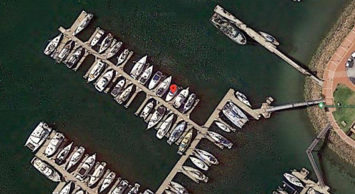Marina Berth 13.5m x 4.5m:Location
