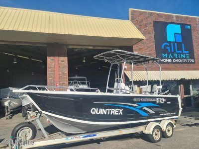 Quintrex 610 Top Ender Tournament AWESOME OFFSHORE FAMILY, FISHING BOAT FORSALE