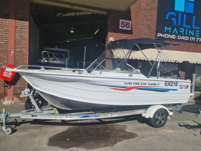 Quintrex 570 Cruiseabout 2015 LOW HOURS WILL NOT LAST LONG!