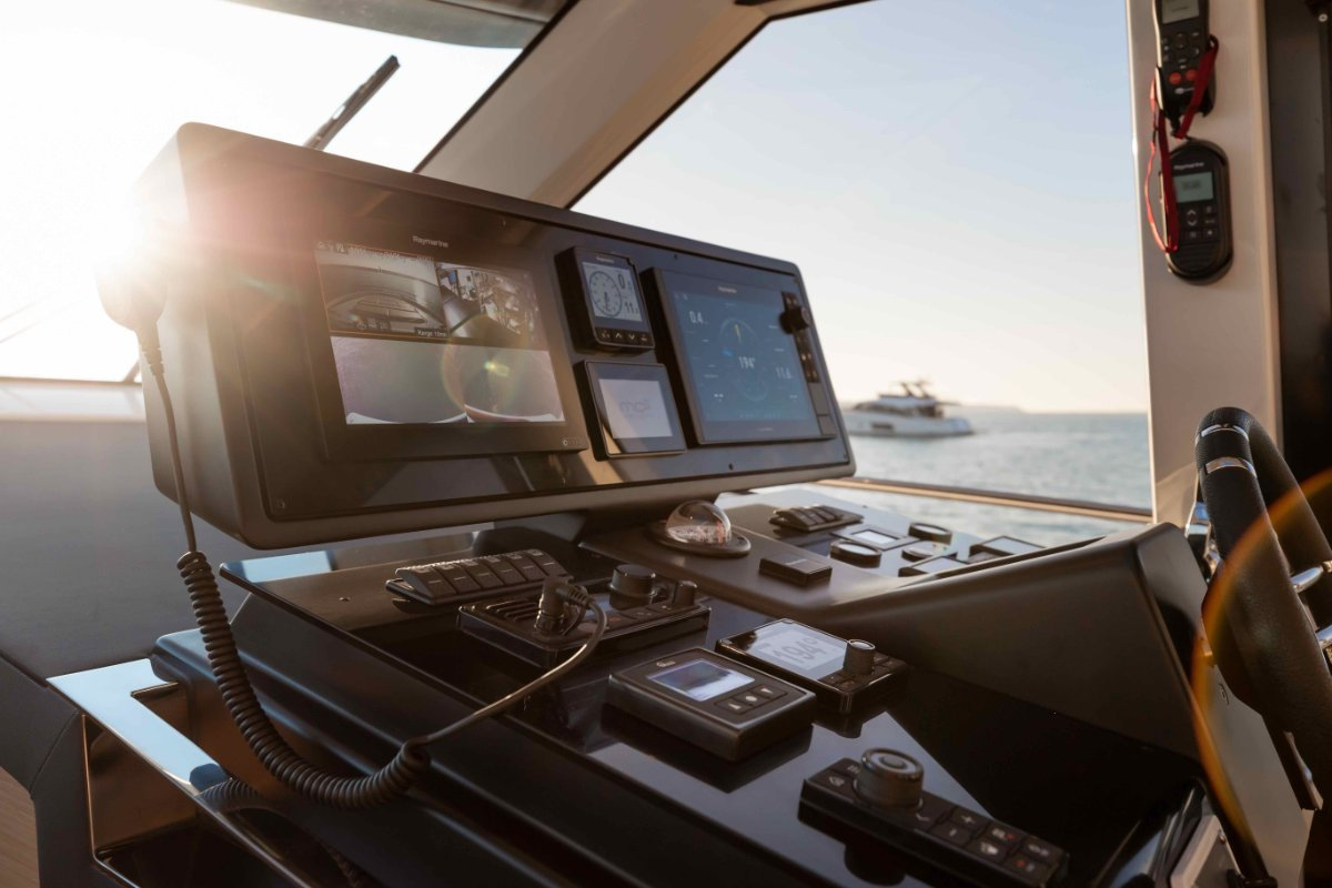 Greenline 45 Coupe An exciting new hybrid eco-friendly yacht