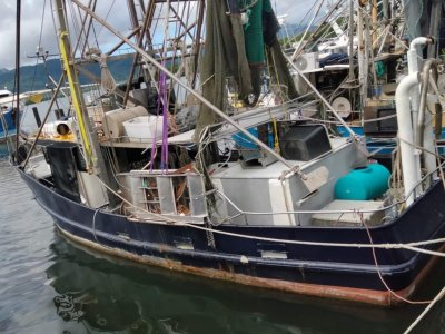 TS453 Commercial 13.71m Steel Trawler