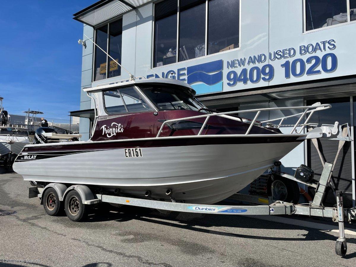 McLay 721 Cruiser Just 85 Hrs