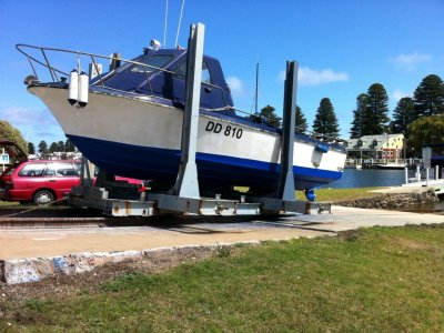 Skippercraft Diesel Fiberglass add value