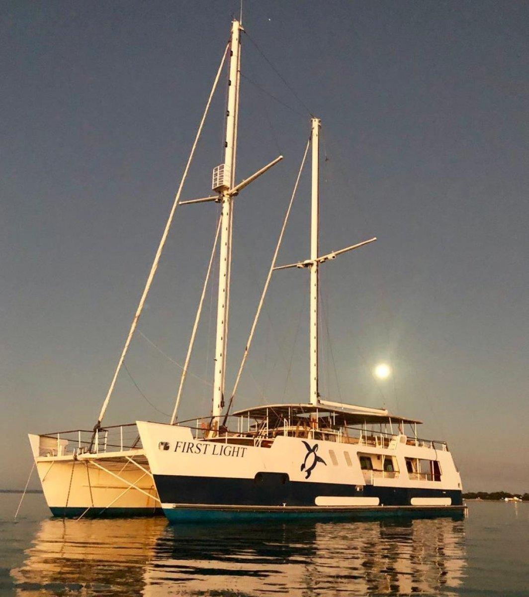 Custom 24m Steel Charter Catamaran