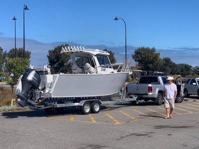 Custom GOSPEL CENTER CAB 7.5M WALK AROUND FISHING