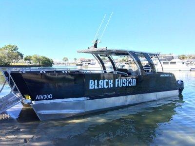Custom 10m Mancraft Pontoon Boat / Landing Craft