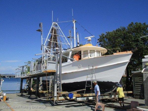 TS454 15.5m NSW/QLD Timber Trawler