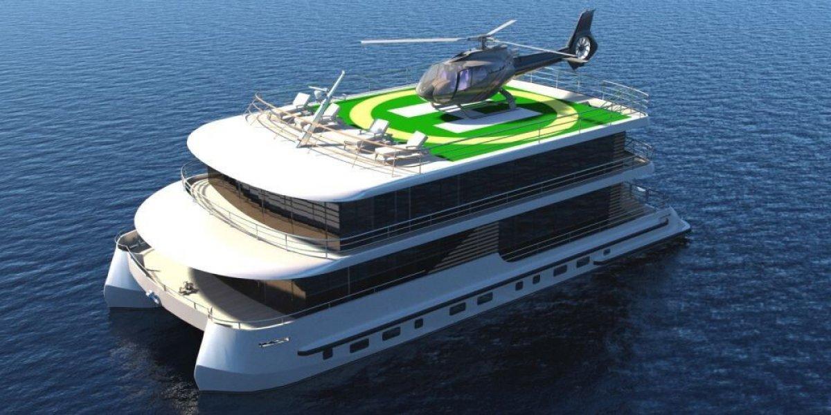 25m Catamaran Houseboat
