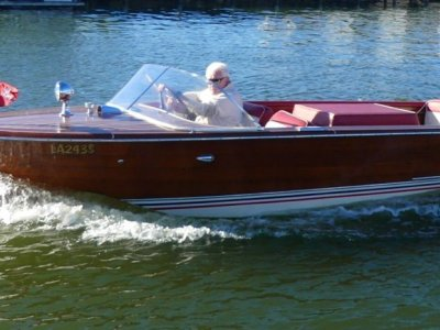 Chris Craft Continental Formally owned by the Late Howard Hughes