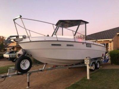 Marksply custom fishing boat