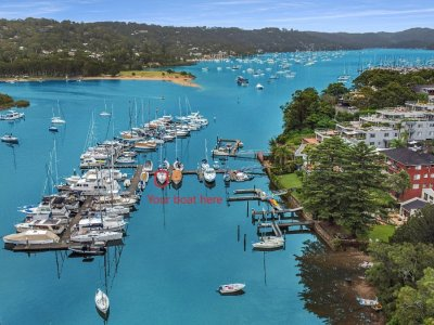 13m Marina Berth for lease - A well protected berth in Pittwater