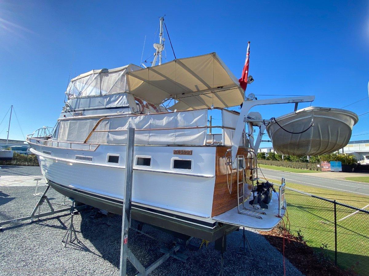 Island Gypsy 44 Aft Cabin Trawler displacement cruiser