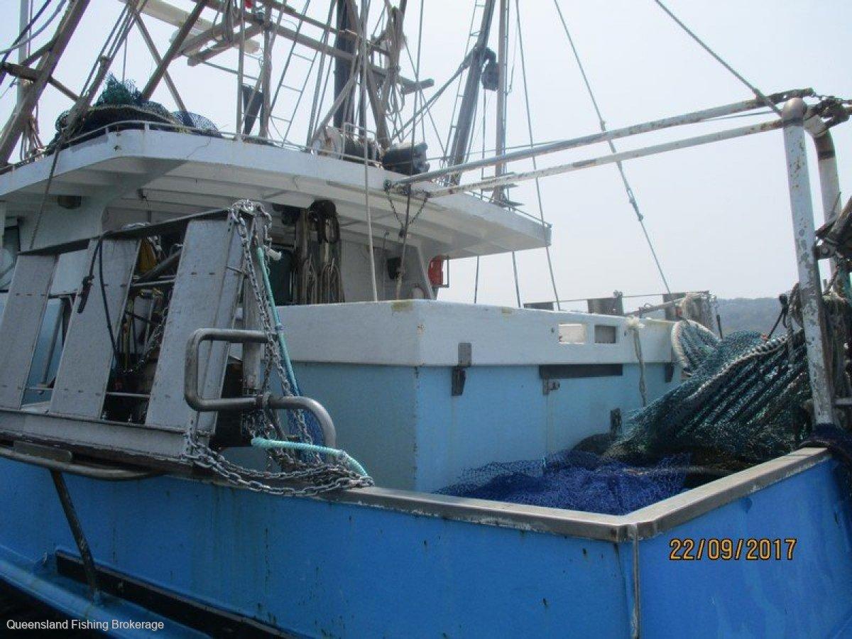 TS456 13.8m Steel East Coast Trawler Package