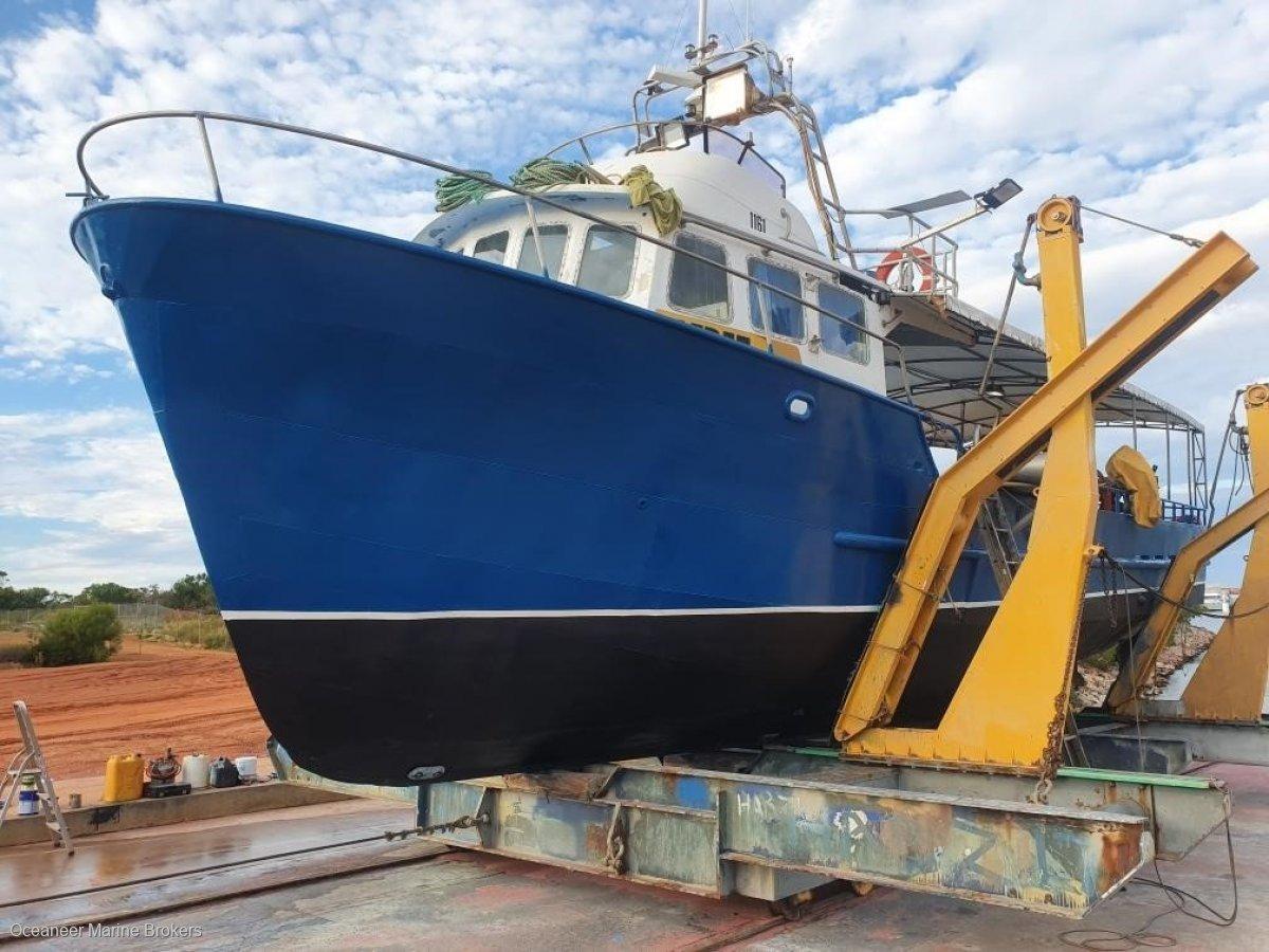 Custom Colin Mansom Steel Fishing Vessel