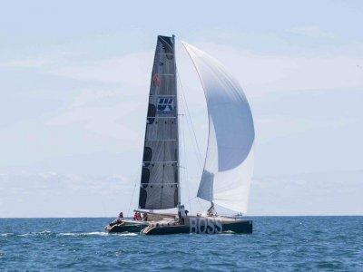 Custom racing catamaran