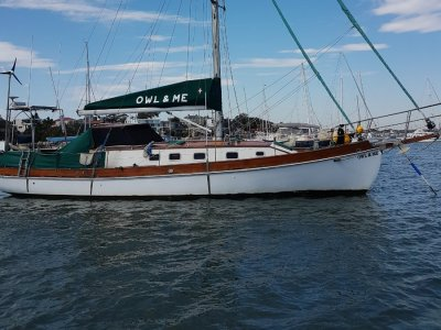 Timber cutter rigged pilot house sloop