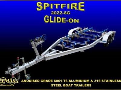 Spitfire 750-3,000 kg Aluminium Boat Trailer
