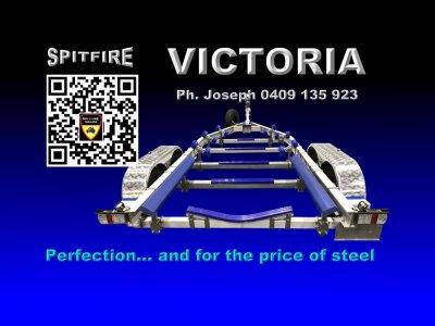 Spitfire 700-2,000 kg Aluminium Boat Trailer