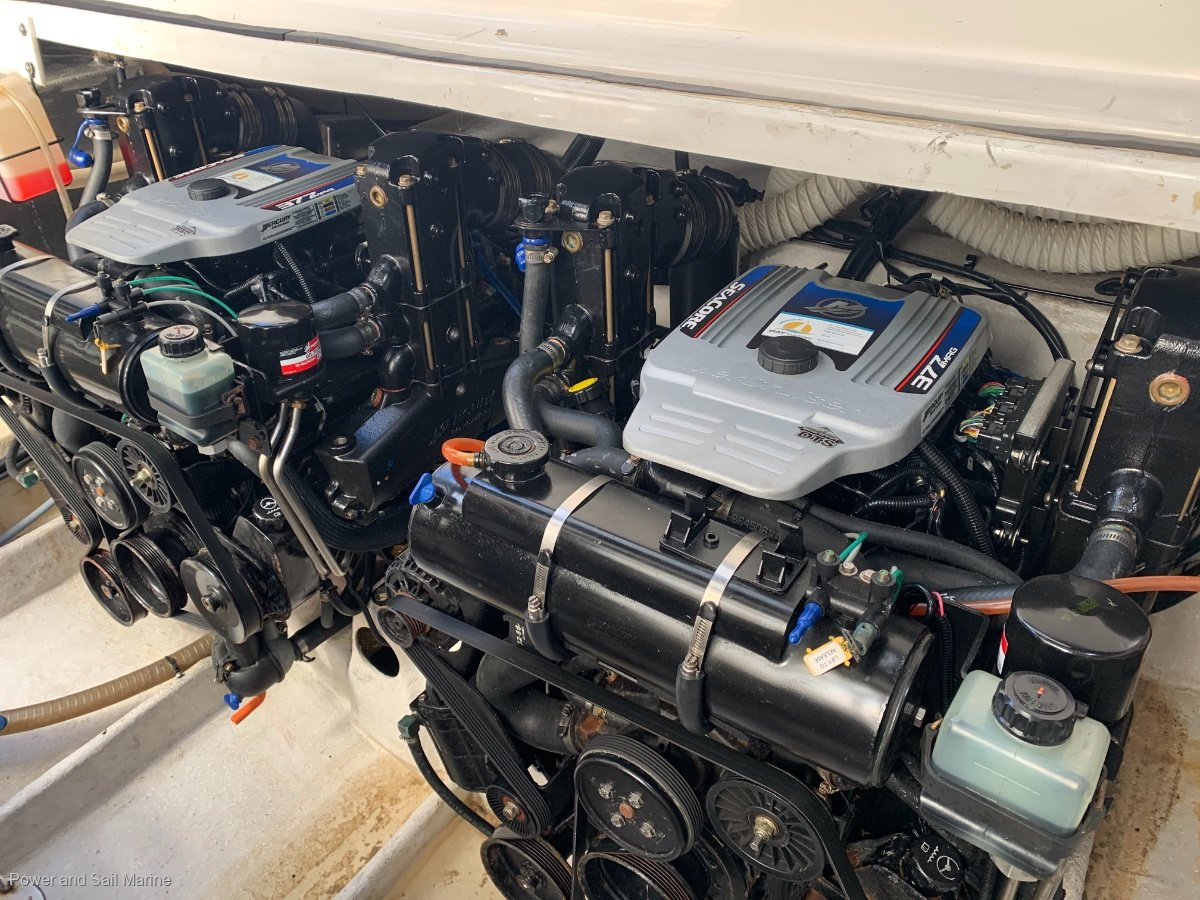 Mustang 3800 Sportcruiser DTS throttles:2010 motors with all the receipts
