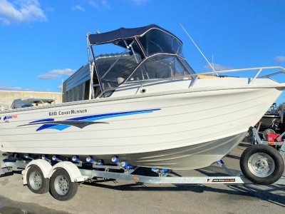 Quintrex 610 Coast Runner GREAT FOR THE FAMILY AND FISHING