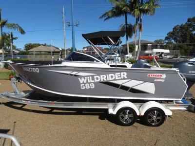 Stacer 589 Wild Rider Aluminium Bow Rider