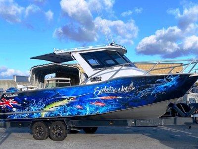 Genesis 750 ISLANDER XL PLATE ALLOY FISHING / DIVING BOAT