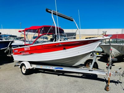 Quintrex 560 Freedom Cruiser Great All Rounder with Nice Customization