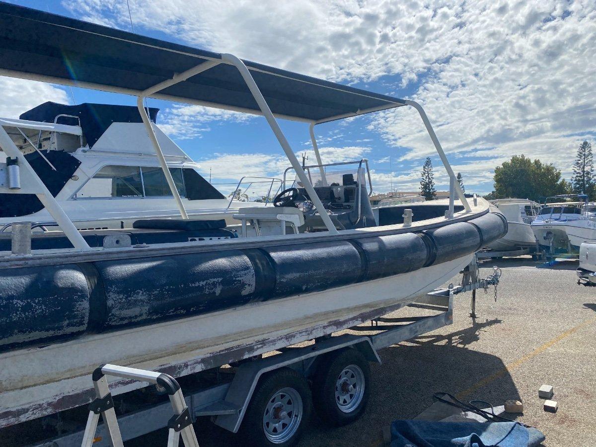 Custom Ex NZ navy ali jet boat, Built to survey