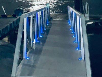Heavy duty Aluminium walkway and Floating jetty