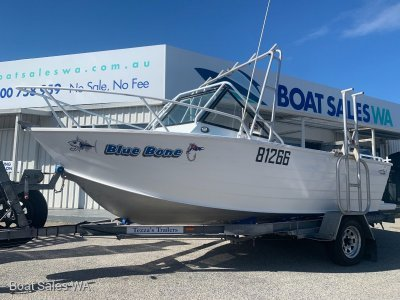 Trailcraft 525 Runabout - Cared for Classic with a fresh 4-Stroke