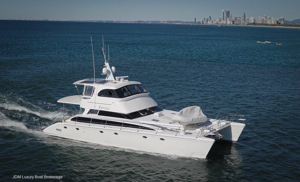 Perry 62 Catamaran 2007 PERRY 62 Flybridge Catamaran Motor Yacht
