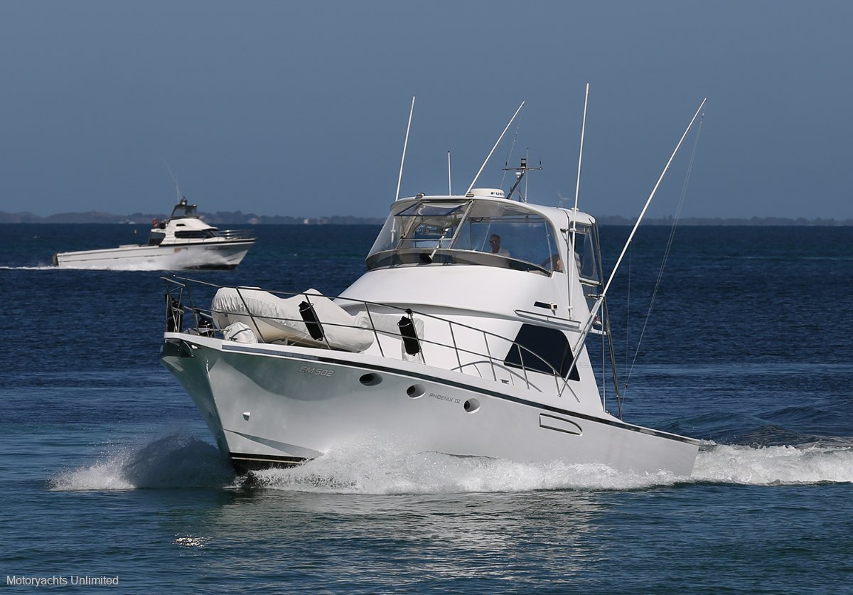 Precision 50 *** Classic WA design with keel and huge deck ***