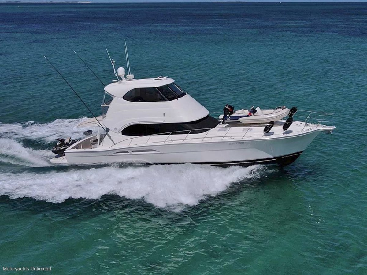 Riviera 51 Enclosed Flybridge ** Half share available **