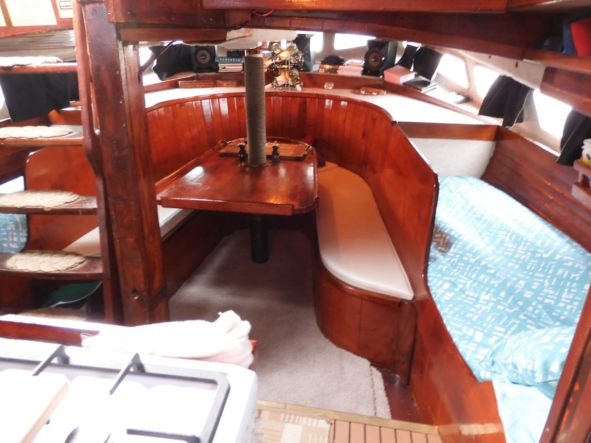 Colin Mudie Mahanui 51ft Steel Cruising Yacht AS NEW VESSEL! BLUEWATER CRUISER/LIVEABOARD!
