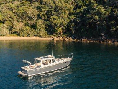 MJM Yachts 36z Downeast Express Cruiser
