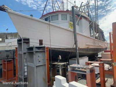 Custom 40 Foot Timber Trawler