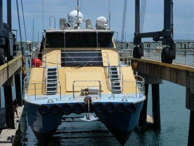 Mark Ellis Charter Catamaran Built by Beechcraft WA as a Dive Charter boat.