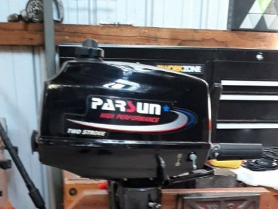 Parsun 3.6 hp 2 Stroke Long Shaft Outboard - Excellent Condition