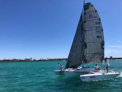 Corsair Sprint 750 Foldable sport+fun boat on licensed trailer