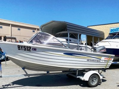 Stacer 420 Seahawk SPORTS GREAT LITTLE CRABBER / INSHORE FISHER