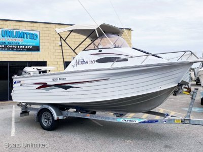 Quintrex 530 Ocean Spirit GREAT SIZE FOR BEACH LAUNCHING AND TRIPS NORTH