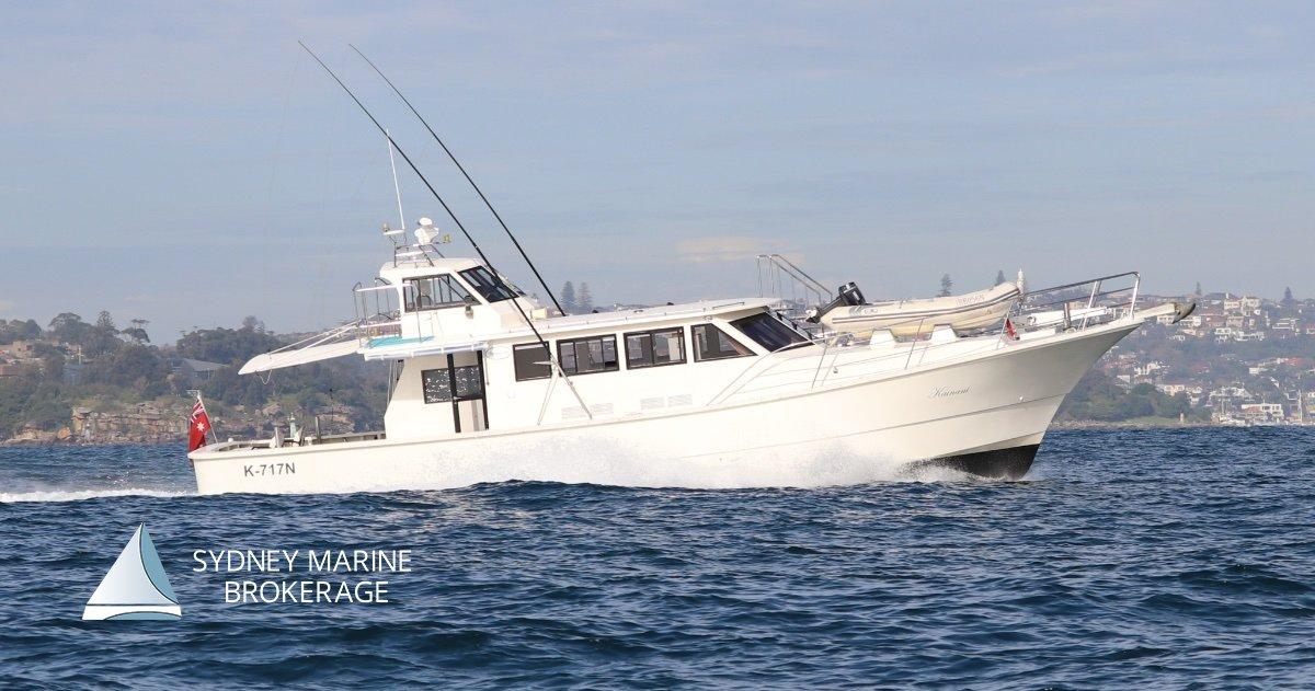 Yanmar 55F Motor Cruiser
