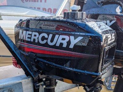 2ND HAND MERCURY 2.5HP 2 STROKE SHORT SHAFT = $ 900.00