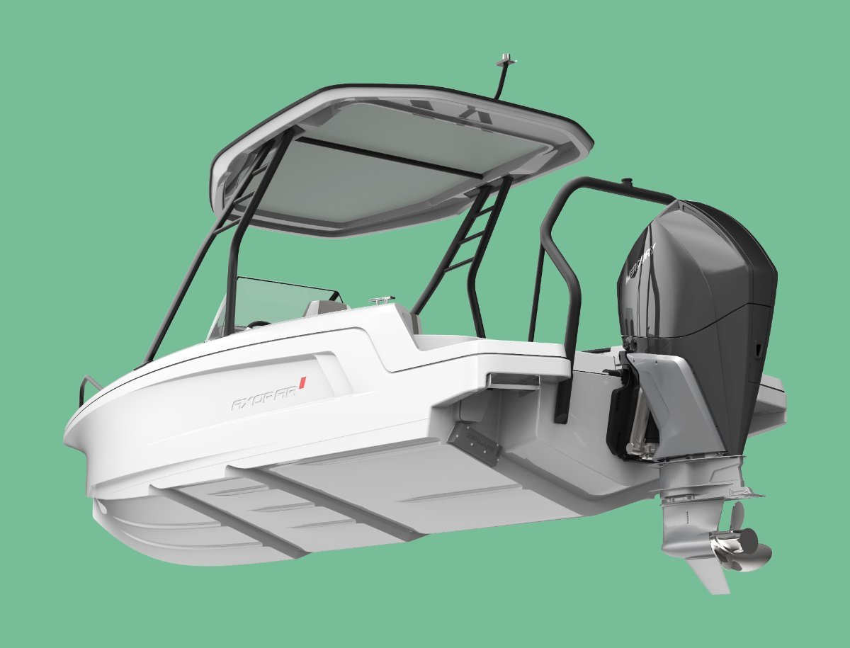 Axopar 22 T-Top A 22-foot day boat like no other